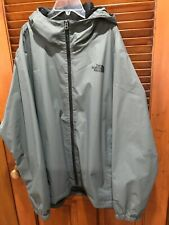 The North Face  Mens Full Zip Hooded Soft Shell Jacket Gray Size XXL EUC!
