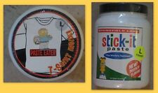 The Simpsons Paste Eater Cotton T-Shirt Size L in Stick-it Paste Jar NEW RARE