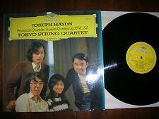 M-/  HAYDN - TOKYO STRING QUARTET - Preussische Quartette / DGG ´74 LP