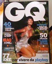 GQ 48 SETTEMBRE 2003 NAOMI CAMBELL 50 TRUCCHI PER AVERE SEMPRE 20 ANNI