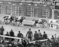 1940 SEABISCUIT SANTA ANITA LAST RACE POLLARD PHOTO