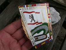 DKW AUTO UNION - BERLIN AVUS RACE WAGEN-RENNEN 1963 Badge !!