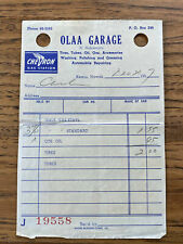 Neat Amoco Gas /& Oil Station Receipt Book Statesville N.C Beroth Oil //Myers Oil