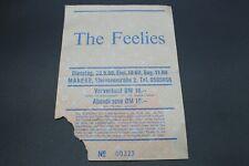 Altes Konzertticket - The Feelies - Manege München - 23.5.1989