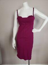 Victoria's Secret Miraculous Bra Top Dress Purple Size 34B Bodycon