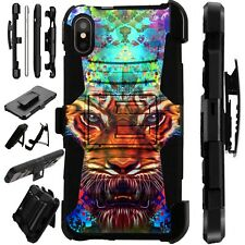 Lux-Guard For iPhone 6/7/8 PLUS/X/XR/XS Max Phone Case Cover FANTASY TIGER FULL