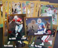 LOT OF (29) 1994 SCORE GOLD ZONE FOOTBALL PARALLEL CARDS!