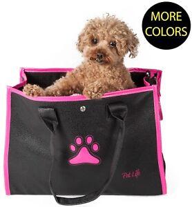 Posh Paw' Designer Trendy Fashion Designer Travel Pet Dog Carrier bag