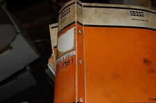 Case 480d 480ll Wheel Tractor Backhoe Loader Repair Shop Service Manual 1981 Oem