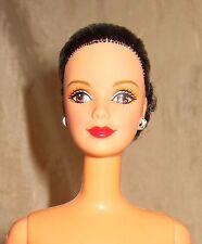 Brunette Hispanic Mackie face sculpt Barbie brown elegant hair do