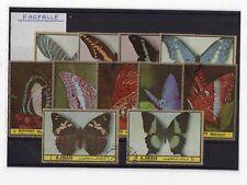 Lotto 11 Francobolli Tematica Farfalle Q1047