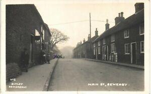 Sewerby between Bridlington & Flamborough. Main Street # 5 by Richards/Binley.