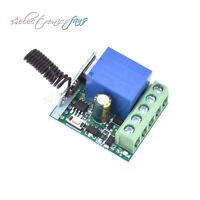 433MHZ Relay DC12V 10A 1CH Wireless RF Remote Control Switch Receiver