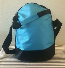 Tupperware Insulated Lunch Bag Light Blue w/ Black New