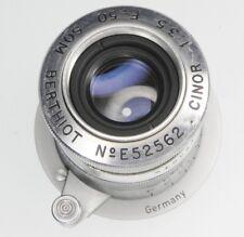 Som Berthiot 50mm f3.5 Cinor Leica SM  #E52562