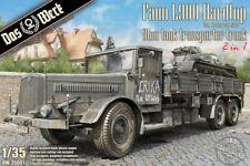 Das Werk 1/35 Faun L900 Hardtop 9ton Tank Transporter Truck (Includes Softtop ca