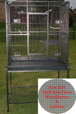 NEW Large Critter 3 Level Ferret Chinchilla Rats Small Animal Metal Cage  - 159