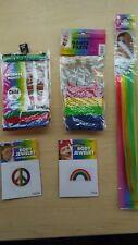 Rainbow Stripes Costume Set - Kids Size