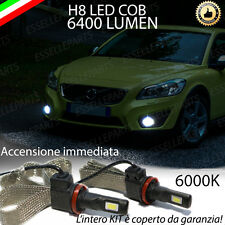 KIT FULL LED VOLVO C30 RESTYLING LAMPADE H8 FENDINEBBIA CANBUS 6400L 6000K
