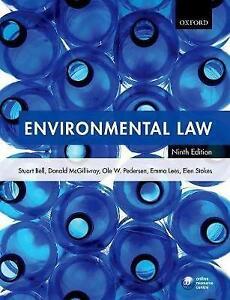 Environmental Law by Ole Pedersen, Elen Stokes, Emma Lees, Donald...