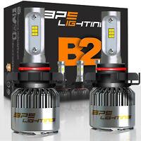 BPS Lighting B2 Series 5202 LED Headlight Bulbs Conversion Kit 12000LM 100W