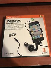 Griffin Technology TuneFlex Aux HandsFree for iPod or iPhone Holder !!!!!!!!!!!!