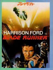 BLADE RUNNER Japanese Souvenir Program 1982, Harrison Ford, Ridley Scott