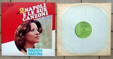MIRANDA MARTINO DISCO LP 33 GIRI NAPOLI E LE SUE CANZONI VOL. 2 RCA TCL1 1036