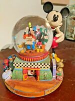 Price Reduced: Limited Disney Mickey & Friends Snow Globe 100 Years of Magic