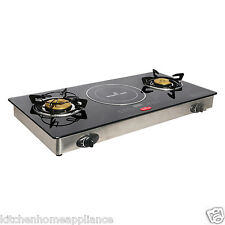 Smartflame Hybrid Gas stove and induction cooker Combo
