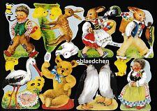 # lucentezza immagini # Krüger 98-56, Mecki, coniglietto, animali con numero & Logo, raramente
