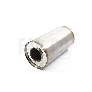 """Universal Stainless Steel TIG Welded Exhaust Silencer 5"""" OD 4"""" 3.5"""" 3"""" 2.5"""" ID"""