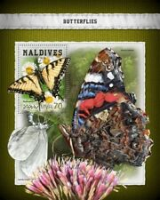 Maldives  2018    Butterflies MS  S201806
