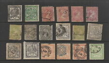 Transvaal c.1870 - 1883 collection, 18 stamps