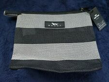 Scout Makeup Bag new with tags Lovely Black and White Pattern