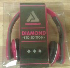 Audio Council Diamond Ltd Edition Headphones. New. Pink.  (B45)