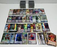 FORCE OF WILL CARD LOT OF APPROXIMATELY 280 RANDOM CARDS / DECENT CONDITION
