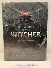 THE WORLD OF THE WITCHER VIDEO GAME COMPENDIUM ARTBOOK NUOVO SIGILLATO