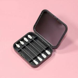 Wattestäbchen Waschbare Ohrreinigungsstifte Silikon Ohrknospen Tupfer Make-up
