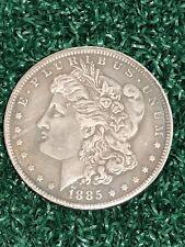 1885 Morgan Dollar Hobo Skull Head Skeleton Eagle Zombie Fantasy Coin USA SELLER