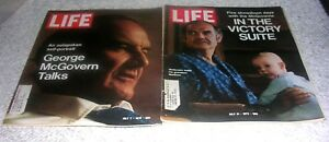 Lot of 2 Life Magazines Jul 7, 1972 & July 21, 1972 George McGovern