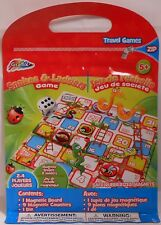 Game Travel SNAKES AND LADDERS Magnetic Portable Zip Closure