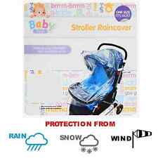 Baby Push Stroller Rain Cover Resistant Universal Chair Pram Buggy Waterproof