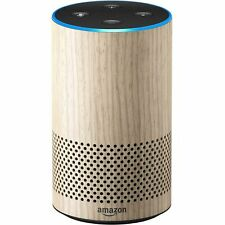 Amazon Echo 2nd Generation 2017 Smart Assistant Speaker with Alexa Oak