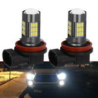 1Set White H8 LED Bulbs High Power 4014 62W LED Fog/Driving DRL Light Auto Parts