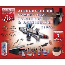 AEROGRAPHE COMPRESSEUR PEINTURE ACCESSOIRE AE05+