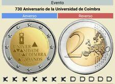 2 Euros Conmemorativos PORTUGAL 2020 *Universidad de Coímbra* Sin Circular leer.
