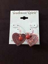 Southwest Spirit Sterling Silver Dangle Earrings NWT