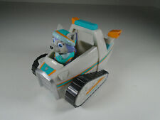 Paw Patrol Everest Snow mobile and original pup character, in VGC