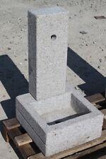 FONTANA  IN GRANITO ROSA  O GRIGIO DA GIARDINO 85087 H 70 CM no cemento o marmo